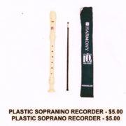 Plastic-Recorder