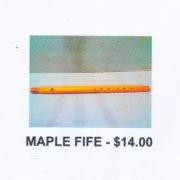 Maple-fife